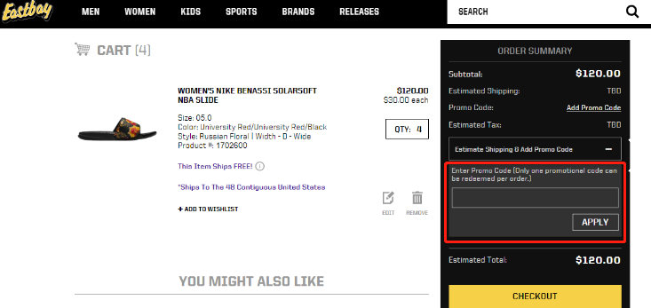 Eastbay Coupons 01