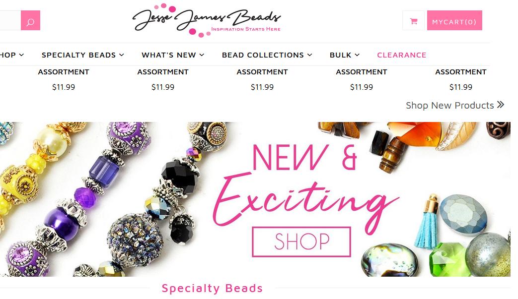 Jesse James Beads Coupons