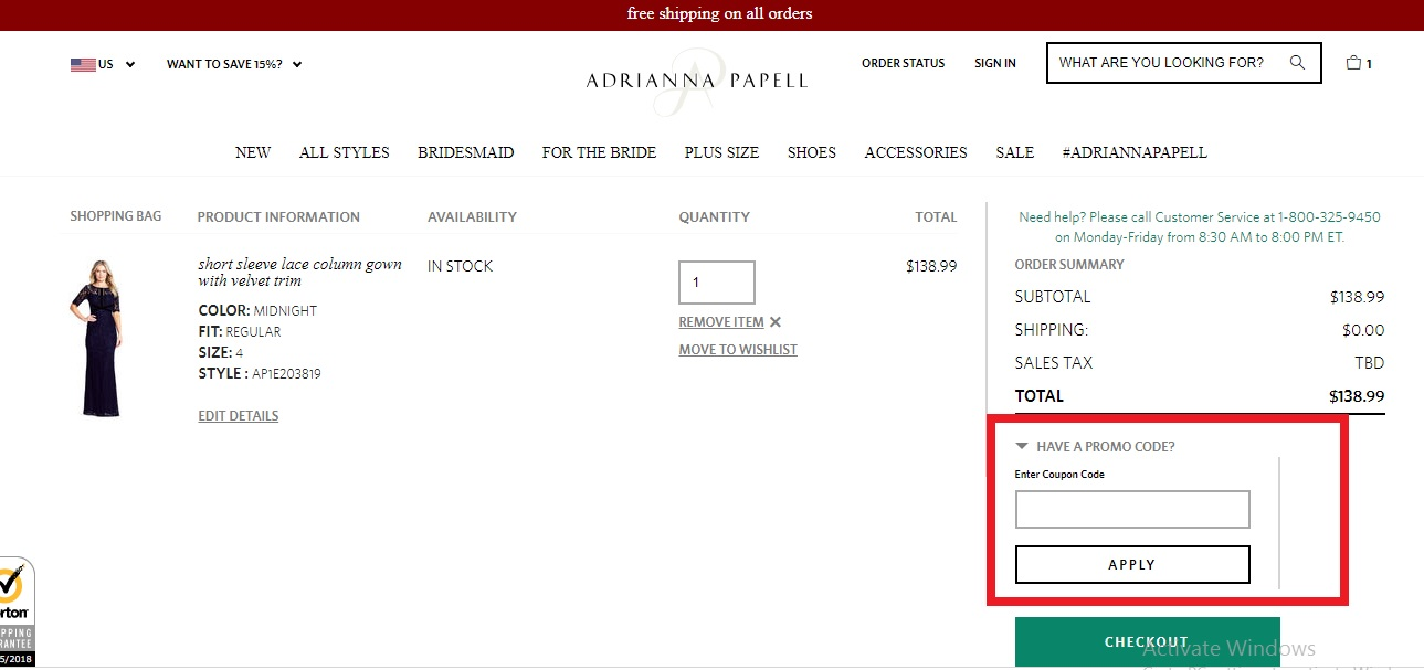 Adrianna Papell Coupons