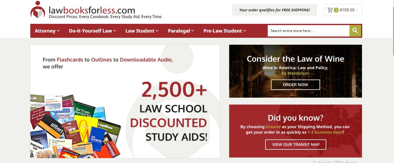 LawBooksforLess.com Coupons